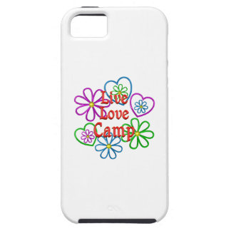 Live Love Camp iPhone 5 Cover