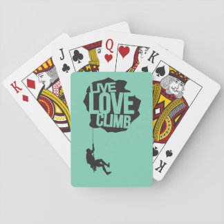 Live Love Climb | Climbing Playing Cards