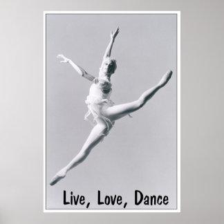 Live Love Dance 2 Print