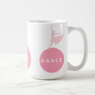 Live Love Dance Ballerinas - Pink - Classic White Coffee Mug