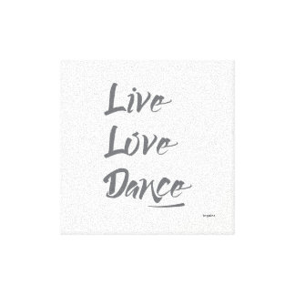 Love Quotes On Canvas Interesting Love Quotes Wrapped Canvas Prints  Zazzle.au