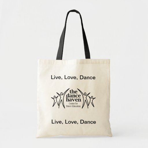 Live, Love, Dance Tote Tote Bag