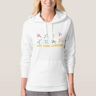 Live Love Exercise Hoodie