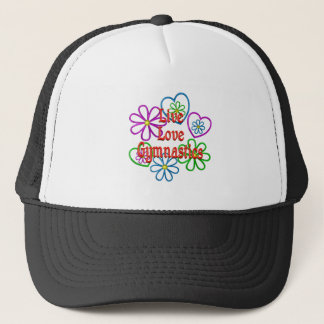 Live Love Gymnastics Trucker Hat