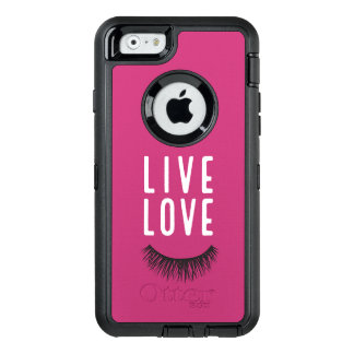 Live Love Lash OtterBox iPhone 6/6s Case