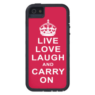 Live Love Laugh and Carry On iPhone 5 Case