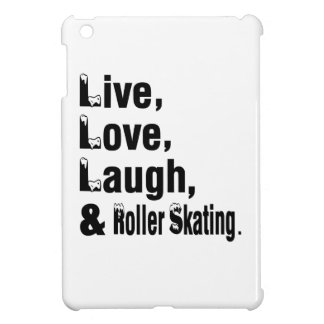 Live Love Laugh And Roller Skating iPad Mini Covers