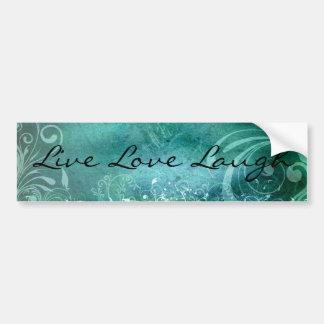 Live Love Laugh bumper sticker Car Bumper Sticker