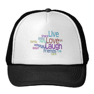 Live Love Laugh Cap