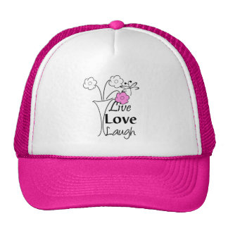 Live, Love, Laugh Hats