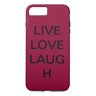Live love laugh iPhone 8 plus/7 plus case