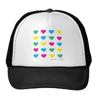 Live Love Laugh Mesh Hat