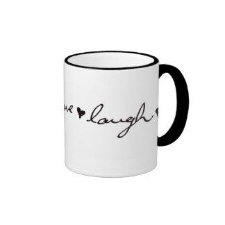 live love laugh coffee mugs