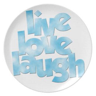 Live Love Laugh Plate