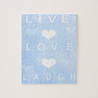 Live Love Laugh Puzzle