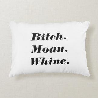 Live Love Laugh Spoof Decorative Cushion
