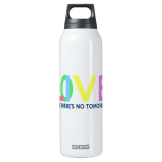 Live Love like there is no tomorrow 0.5 Litre Insulated SIGG Thermos Water Bottle