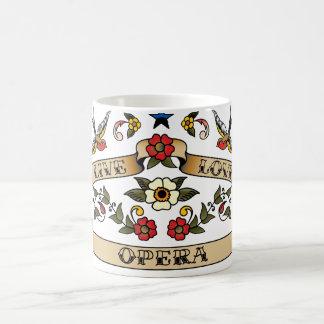 Live Love Opera Coffee Mug