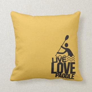 Live Love Paddle | Kayak Canoe Cushion