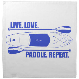 Live Love Paddle Repeat Napkin