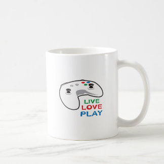 LIVE LOVE PLAY COFFEE MUG
