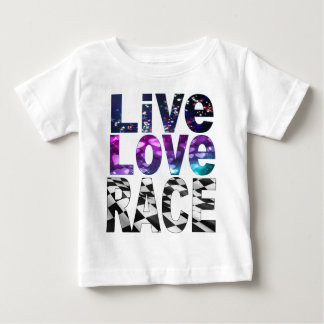 live love race baby T-Shirt