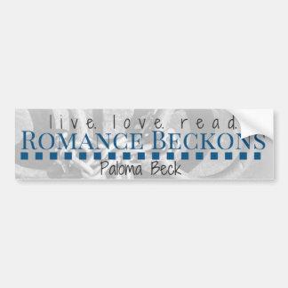 Live. Love. Read. Bumper Sticker