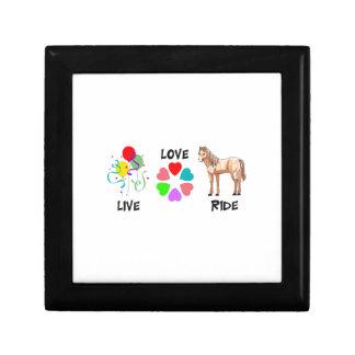 LIVE LOVE RIDE KEEPSAKE BOX