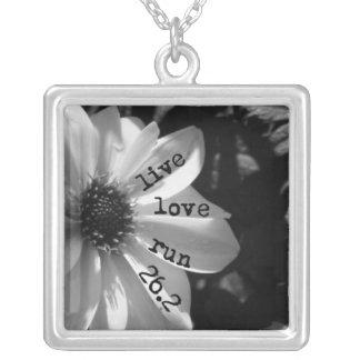 Live Love Run 26.2 by Vetro Jewelry