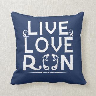 LIVE- LOVE - RUN CUSHION