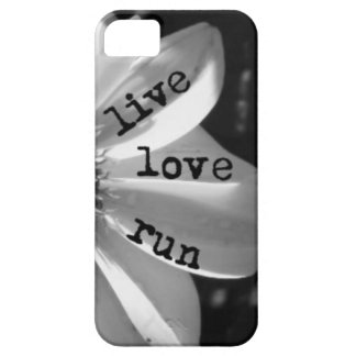 Live Love Run phone case by Vetro Designs