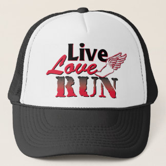 Live Love Run Trucker Hat
