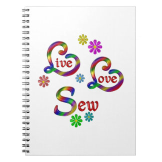 Live Love Sew Notebook