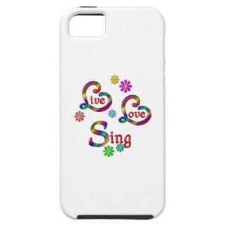 Live Love Sing Tough iPhone 5 Case