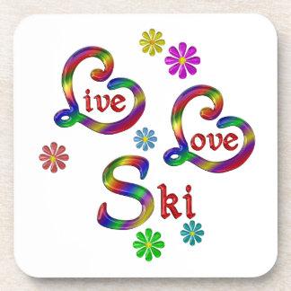 Live Love Ski Coaster