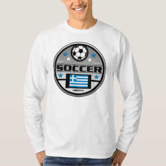 Live Love Soccer Greece T-Shirt