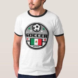 Live Love Soccer Mexico T Shirts