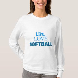Live Love Softball  HOODIE