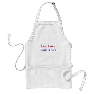 Live Love South Korea Standard Apron