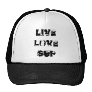 Live Love SUP Trucker Cap