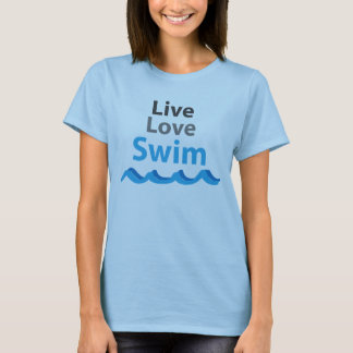 Live Love SWIM T-Shirt