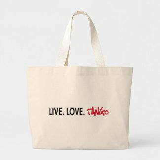 Live Love Tango cool design! Bag