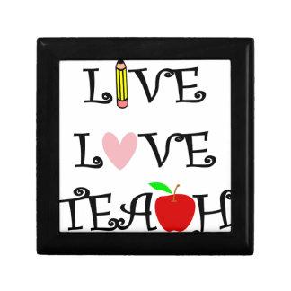 live love teach3 gift box