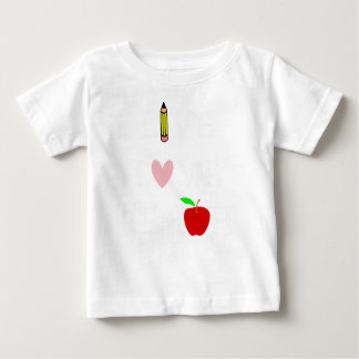 live love teach4 baby T-Shirt