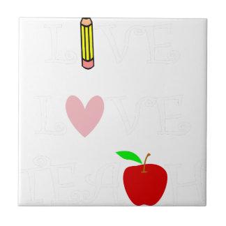 live love teach4 tile