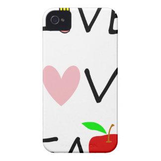 live love teach iPhone 4 case