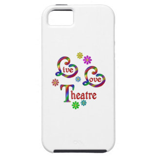 Live Love Theatre Tough iPhone 5 Case