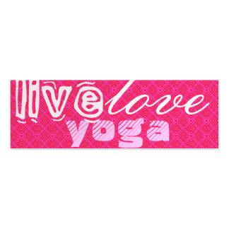 Live. Love. Yoga Business Card
