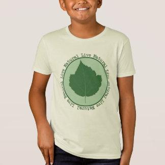 Live Natural Kids Organic T Shirt