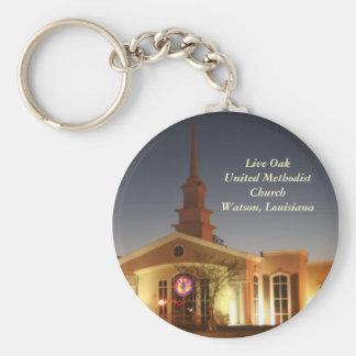 Live Oak United Methodist Church Key Ring